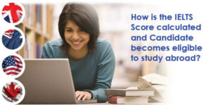 How is the IELTS Score calculated and Candidate becomes eligible to study abroad?